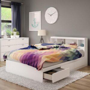 Giường ngủ gỗ hiện đại Sharon (2)