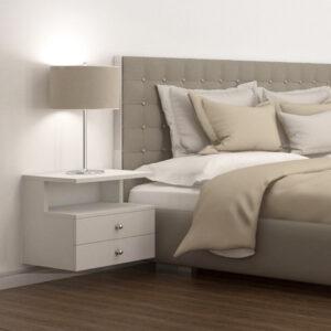Kệ gỗ đầu giường hiện đại Natasha (5.1)