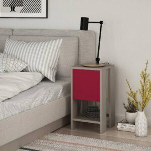 Kệ gỗ đầu giường hiện đại Natoma (9)
