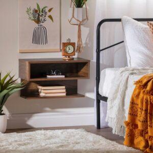 Kệ gỗ đầu giường hiện đại Nicola (4)