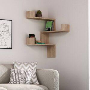 Kệ gỗ treo tường trang trí hiện đại Walker (8)