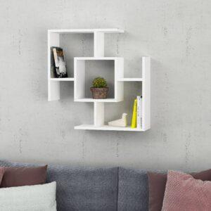 Kệ gỗ treo tường trang trí hiện đại Warel (8)