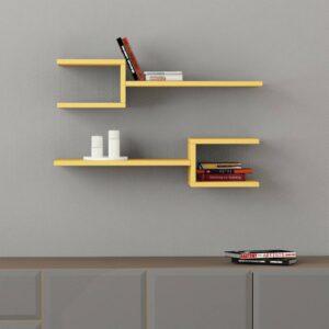 Kệ gỗ treo tường trang trí hiện đại Webbs (11)