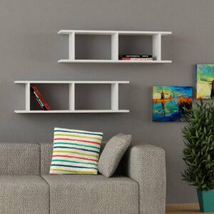 Kệ gỗ treo tường trang trí hiện đại Wellard (7)