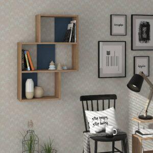 Kệ gỗ treo tường trang trí hiện đại Wetzel (7)