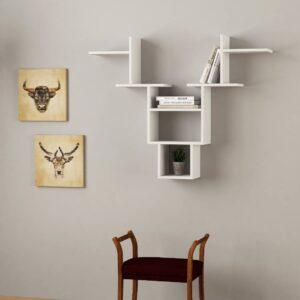 Kệ gỗ treo tường trang trí hiện đại Whitetail (10)