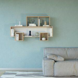 Kệ gỗ treo tường trang trí hiện đại Wallia (3)