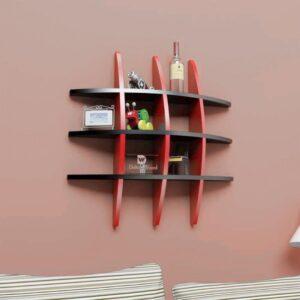 Kệ gỗ treo tường trang trí hiện đại Waris (1)