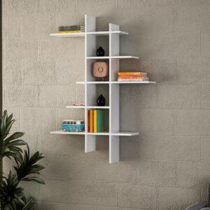 Kệ gỗ treo tường trang trí hiện đại Wiz (1)