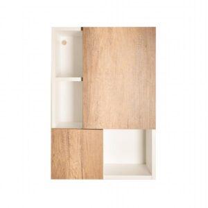 Kệ khăn tắm, mỹ phẩm gỗ hiện đại Calum