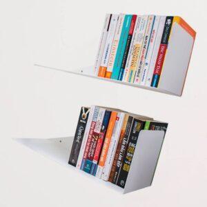 SMLIFE | Kệ sách treo tường xéo X50 (Set 2)