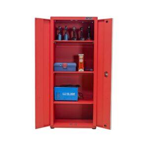 Tủ Đựng Dụng Cụ 2 Cửa 4 Ngăn CSPS - W45xL75xH181cm (Màu Đen)