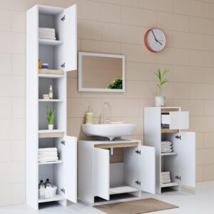 Tủ phòng tắm gỗ hiện đại Smokey (6)
