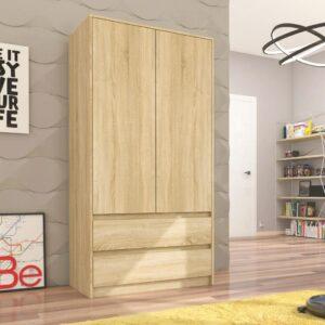 Tủ quần áo gỗ hiện đại Catherine (1)