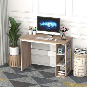 Bàn làm việc, bàn học gỗ hiện đại Daikun (1)