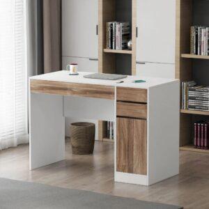 Bàn làm việc, bàn học gỗ hiện đại Dakoon (1)