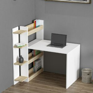 Bàn làm việc, bàn học gỗ hiện đại Danin (1)