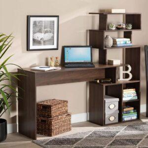 Bàn làm việc, bàn học gỗ hiện đại Dash (1)