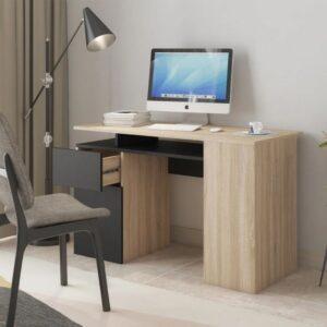 Bàn làm việc, bàn học gỗ hiện đại Dazai (1)