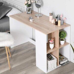 Bàn làm việc, bàn học gỗ hiện đại Debitto (1)