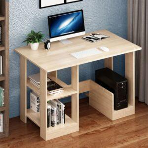 Bàn làm việc, bàn học gỗ hiện đại Dekosuke (1)
