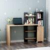 Bàn làm việc, bàn học gỗ hiện đại Delilah (1)