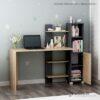 Bàn làm việc, bàn học gỗ hiện đại Delilah (4)