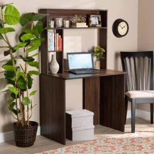 Bàn làm việc, bàn học gỗ hiện đại Demando (1)