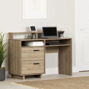 Bàn làm việc, bàn học gỗ hiện đại Deringer (1)