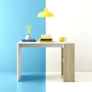 Bàn làm việc, bàn học gỗ hiện đại Destro (1)