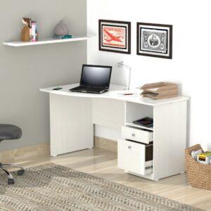 Bàn làm việc, bàn học gỗ hiện đại Diskant (1)