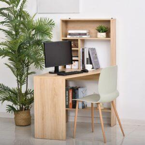 Bàn làm việc, bàn học gỗ hiện đại Dordabo (1)