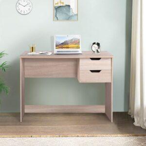 Bàn làm việc, bàn học gỗ hiện đại Dortin (1)