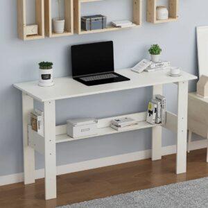 Bàn làm việc, bàn học gỗ hiện đại Drilma (1)