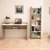 Bàn làm việc, bàn học gỗ hiện đại Dugar (5)
