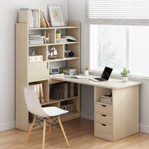 Bàn làm việc, bàn học gỗ hiện đại Dyson (1)