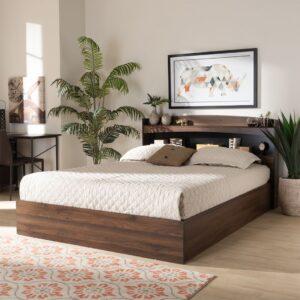 Giường ngủ gỗ hiện đại Sigrun (1)