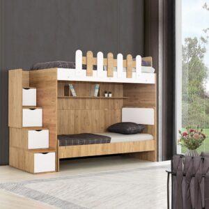 Giường tầng gỗ hiện đại cho bé Scalerias (1)