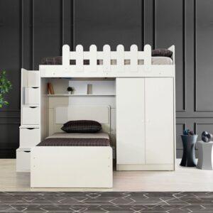 Giường tầng gỗ hiện đại cho bé Sigore (1)