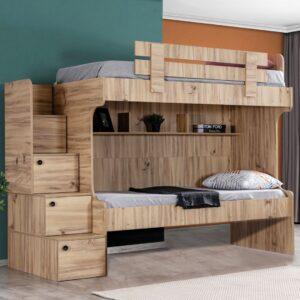 Giường tầng gỗ hiện đại cho bé Sinyority (10)