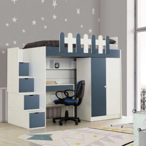 Giường tầng gỗ hiện đại cho bé Soocio (1)