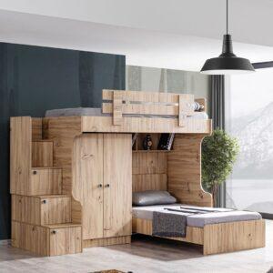 Giường tầng gỗ hiện đại cho bé Syenis (8)