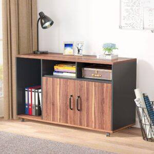 Kệ để máy in gỗ hiện đại Pogard (1)
