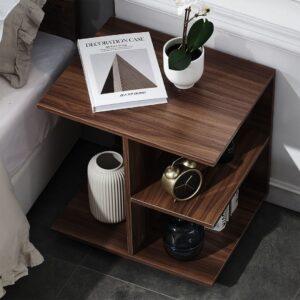 Kệ gỗ đầu giường hiện đại Nakodo (1)