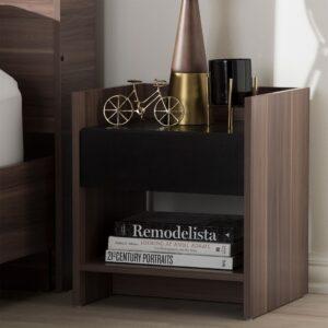 Kệ gỗ đầu giường hiện đại Nesco (1)