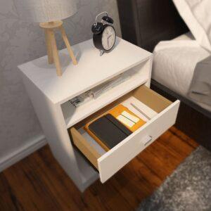 Kệ gỗ đầu giường hiện đại Nivaka (1)
