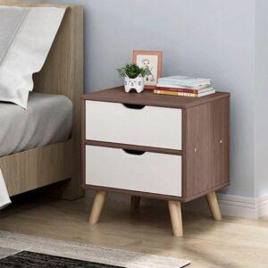 Kệ gỗ đầu giường hiện đại Norris (1)