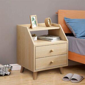 Kệ gỗ đầu giường hiện đại Northgate (1)