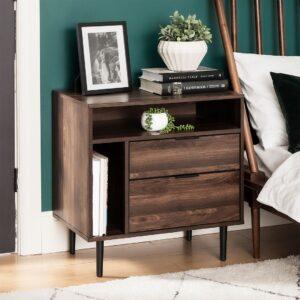 Kệ gỗ đầu giường hiện đại Nyssa (1)