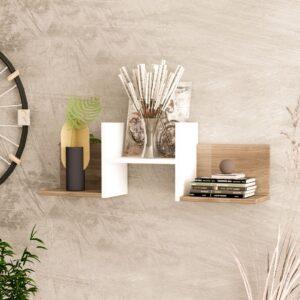 Kệ gỗ treo tường trang trí hiện đại Wayette (4)